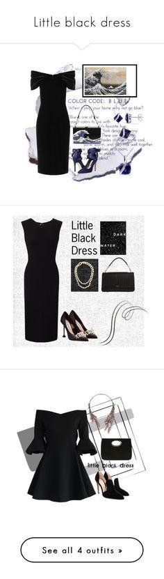 """""""Little black dress"""" by mia-de-neef ❤ liked on Polyvore featuring Emilio De La Morena, Alice + Olivia, Miadora, Roland Mouret, Miu Miu, Chanel, DKNY, Chicwish, Gianvito Rossi and BCBGMAXAZRIA"""