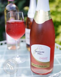 A Rosé wine Bank Holiday, pink wine, blossom hill wine