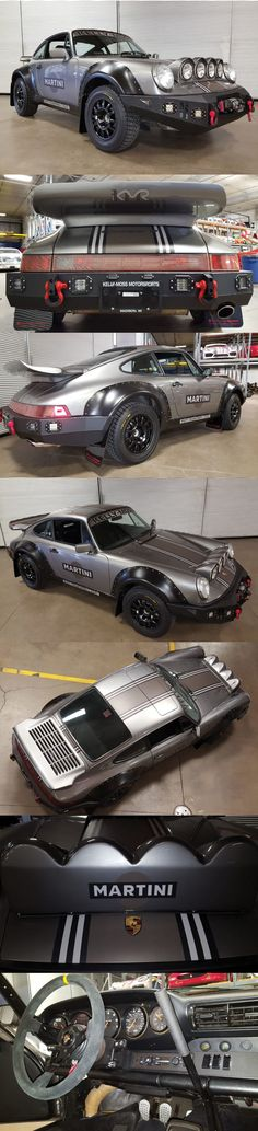 Kelly Moss Motorsports 964 C4 Safari RS 2.0