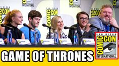 Game of Thrones Comic Con panel highlights (part 1) with Iwan Rheon, Kristian Nairn, Sophie Turner, Isaac Hempstead Wright, Liam Cunningham, Conleth Hill, Na...