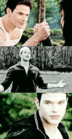 Emmet in Breaking Dawn 2, Twilight and Eclipse