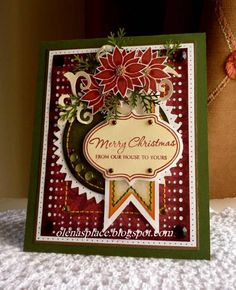 Merry Christmas by Olena 1977 - Cards and Paper Crafts at Splitcoaststampers