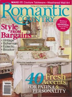 Romantic Country Magazine Winter 2012 (Style « Library User Group