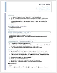 Advertising Account Executive Resume Prepossessing Account Manager Resume Download At Httpwriteresume2Account .