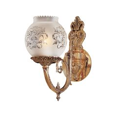 Metropolitan Lighting Vintage Etched Glass Wall Sconce in Antique Classic Brass, Victorian Victorian Wall Sconces, Victorian Lighting, Vintage Wall Sconces, Rustic Wall Sconces, Candle Wall Sconces, Vintage Walls, Vintage Lighting, Vintage Room, Vintage Decor