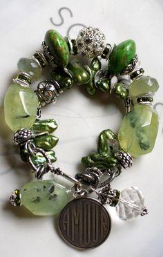 Etsy Transaction - sheer splendor pandora calchadony french charm bracelet