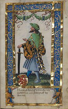 Heinrich (v) the Elder of Brunswick - aka Henry I of the Rhine; 1173-1227; my 26th great grandfather