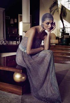 High Allure | Vogue Italia March 2014 | Malgosia Bela by Yelena Yemchuk