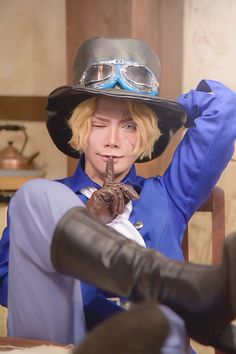 Sabo One Piece Cosplay Cosplay Anime, Epic Cosplay, Amazing Cosplay, Cosplay Outfits, Cosplay Costumes, Sabo One Piece, One Piece Luffy, One Piece Anime, Best Cosplay Ever