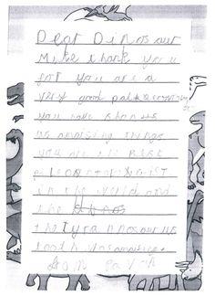Dinosaurs encourage creative writing amongst Key Stage 1 children.