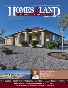 View the latest issue online of Homes & Land of Carson City & Carson Valley #homesandlandmagazine #realestate #homesforsale