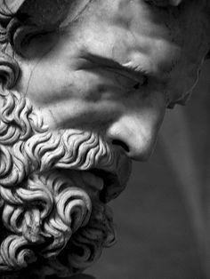 poseidon sculpture Zeus - Father of Gods and Men, - sculpture Roman Sculpture, Art Sculpture, Abstract Sculpture, Bronze Sculpture, Sculpture Projects, Sculpture Ideas, Michelangelo Sculpture, Persephone, Aphrodite