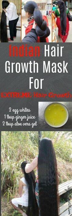Diy hair growth hack Grow long healthy hair quick