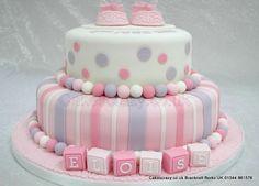 Ideas para decorar tortas de bautizo 6