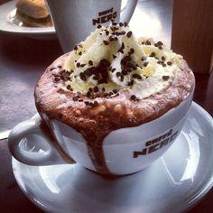 .@sukisalvador | Favorite Drink 2012. Caffe Nero Hot Chocolate, London. | Webstagram - the best Instagram viewer