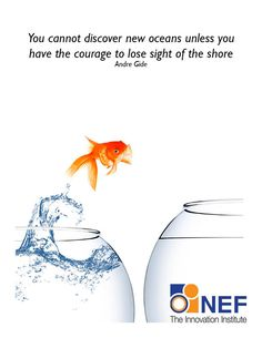 Inspirational quotes on Innovation designed as free e-card to share. By NEF: The Innovation Institute