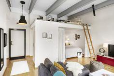 Chambres cachées dans un mini loft - PLANETE DECO a homes world