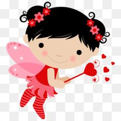 Valentines Day Drawing, Happy Valentines Day, Fairy Clipart, Clip Art, Gnome, Foam Crafts, Cute Images, Cute Illustration, Baby Quilts