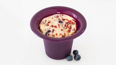 A healthier, portion-controlled muffin made fresh by you in just 3 minutes. Prep the night before and cook while your morning java is brewing. Desserts Menu, Dessert Recipes, Healthy Recepies, Healthy Meals, Healthy Life, Healthy Eating, Epicure Recipes, Portion, Cooking For One