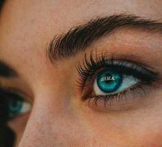 | #makeup Beautiful Eyes Color, Pretty Eyes, Cool Eyes, Aesthetic Eyes, Blue Aesthetic, Beauty Makeup, Eye Makeup, Makeup Style, Regard Intense