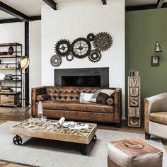 Möbel Und Dekoration Im Industry , Loft  U0026 Factory Stil