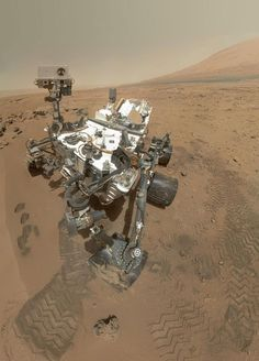 Mars rover snaps spooky portraits - Cosmic Log
