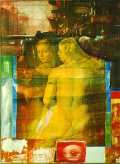 """""""I think a painting is more like the real world if it's made out of the real world.""""  -Robert Rauschenberg"""