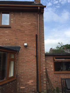 #golden oak #windows installed in #Stafford,Golden oak is the colour of the #fascia and the windows.