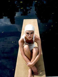 Keira Knightley maillot de bain blanc Reviens-moi