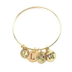 GOALS bangle for tweens and teens