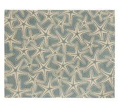 Starfish Rug #potterybarn