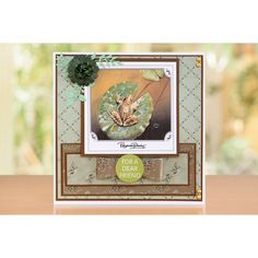 PAPER BOUTIQUE Pollyanna Pickerings World Wildlife Volume III Die-Cut Toppers and Sentiment Collection