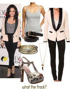 What the Frock? - Affordable Fashion Tips, Celebrity Looks for Less: Celebrity Look for Less: Vanessa Hudgens Style