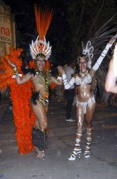 Samberos de Ita Bera 2014- AFRICA Nadia y Camila