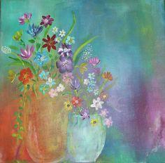 Blomster 30*30