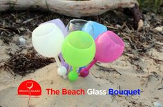 The Beach Glass 4th of July Sale!  All six colors in one Beach Glass Bouquet!