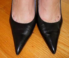 For the toe cleavage fans.     The New Steve Madden Women's Masqraid Open-Toe Pump