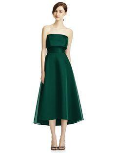 Lela Rose Lr234 Bridesmaid Dress in Emerald Green