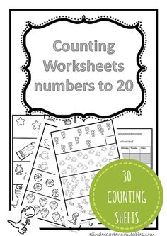 Counting worksheets 1-20 free printable workbook counting worksheets 1-20