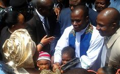 Catholic Church demotes Father Mbaka; 'I'm going to suffer' – Mbaka replies.. (Photos Of Him Moving To His New Parish)