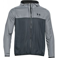 Men's Under Armour Lightweight Mens Running Windbreaker Jacket in Gray Sz Small Under Armour, Windbreaker Jacket, Nike Jacket, Motorcycle Jacket, Grey, Mens Running, Sports, Jackets, Clothes