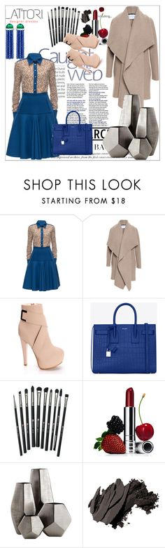 """Lattori II-6"" by ado-duda ❤ liked on Polyvore featuring Lattori, Harris Wharf London, Yves Saint Laurent, Revolution, Clinique, Cyan Design, Bobbi Brown Cosmetics and lattori"