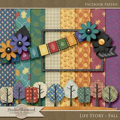 Quality DigiScrap Freebies: Life Story - Fall mini kit freebie from Sherwood Studio