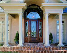 Estate Exterior Front Entry Door