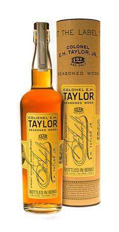 Buffalo Trace Distillery Releases Col. E. H. Taylor, Jr. Seasoned Wood Bourbon Whiskey