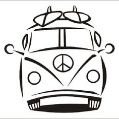 Kombi Surf Más tattoo The Surfing Handbook Art Surf, Deco Surf, Anna E Elsa, Volkswagen Bus, Pyrography, Line Art, Coloring Pages, Art Drawings, Surfing