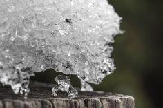 Iskristaller är som ett konstverk.