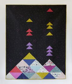 Volcano Quilt by Sarah Watts Cotton and Steel
