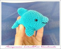 Amigurumi Dolphin Free : Amigurumi: Whales, Dolphins, Sharks on Pinterest ...
