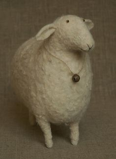 sweet felted sheep